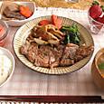 0102 ステーキ定食