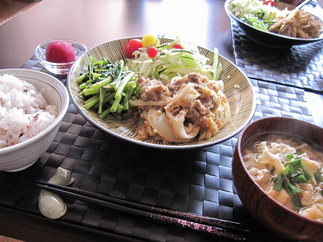 I生姜焼き