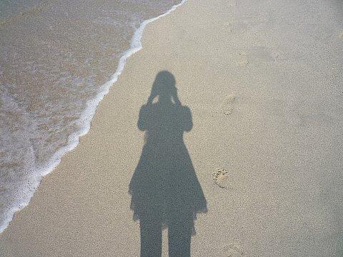 15 Phuketビーチでわたし