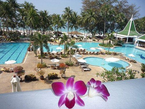 21 Phuket 部屋から最後の眺め